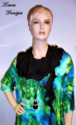 gedrehter Jersey Schal, ver. Farben, Schal 3