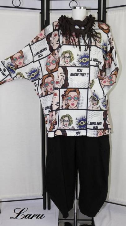 Shirt Comic Woman 9056