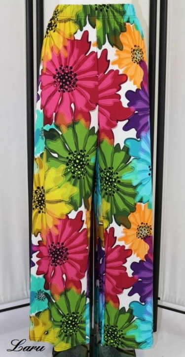 Hose Marlene Jersey Flower bunt