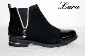 Stiefelette Black Mixed Y1168