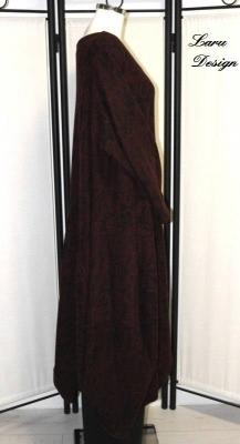 Kleid 0392-KL [EG   schwarz/bordeaux]