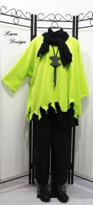 Flauschiges Fleece Shirt, Flamme, Laru Design