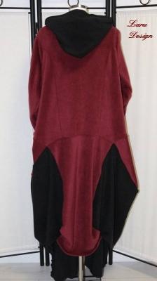 Mantel Fleece Patchwork bordeaux [EG | bordeaux]