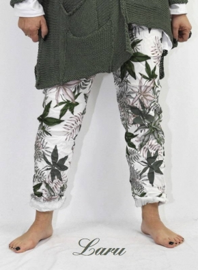 Hose Summer Stretch crash Floral 50104